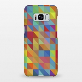 Galaxy S8+  Meduzzle: Color Chaoses by Sitchko Igor (Geometry,triangle,triangles,geo,cube,cubes,vector,texture,pattern,color,colorful,retro,modern,pop-art,minimal,minimalism)
