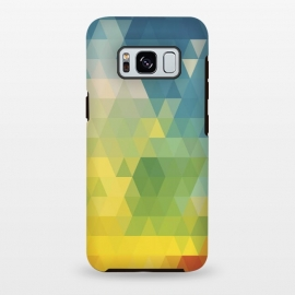 Galaxy S8 plus  Meduzzle: Colorful Days by  (Colorful,day,days,tirangle,triangles,vector,minimal,minimalism,angle,angles,cube,simple,texture,pattern,retro,modern)