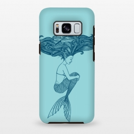 Galaxy S8 plus  Mermaid by  (mermaid,summer,beach,sun,ocean,little mermaid,sea,vacation,spring bread,funny,hair,boat)