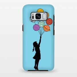 Galaxy S8 plus  Planets Balloons 2 by
