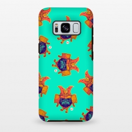 Galaxy S8+  Samurai Pug Pattern by Draco