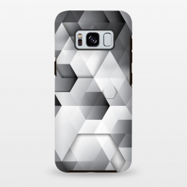 Galaxy S8+  Black Geometrics  by Rui Faria
