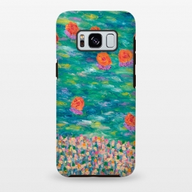 Galaxy S8+  Cheerful Orange by Helen Joynson