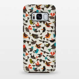 Galaxy S8+  Just Birds by Sharon Turner