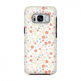 Galaxy S8  Cactus County Desert Flowers  by Sarah Price Designs