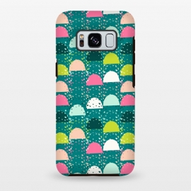 Galaxy S8+  Abstract Rainbow by Sarah Price Designs
