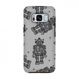 Galaxy S8  A Vintage Robot Friend Pattern  by Wotto