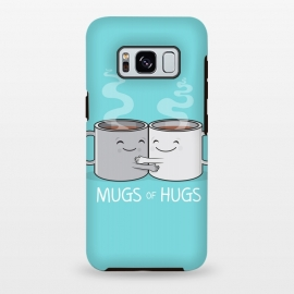 Galaxy S8 plus  Mugs of Hugs by  (mugs, coffee, java,caffeine, coffee lover, positive,fun, funny, cute, coffee art,characters,hugs, love,hugging, mondays,mornings, friends, friendship,mates,steam,smiles,loving, caring,gift)