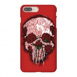 iPhone 8/7 plus  Skull Roses by Branko Ricov