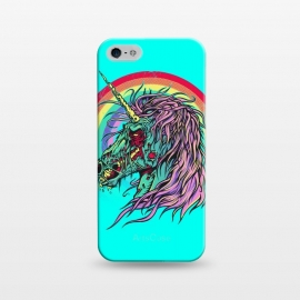 iPhone 5/5E/5s  Unicorn Zombie by Branko Ricov