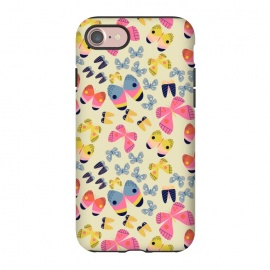 iPhone 8/7  Flutterby Butterfly by Sarah Price Designs (Butterfly,Rainbow)