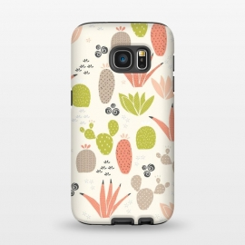 Galaxy S7  Cactus County Cactus by Sarah Price Designs