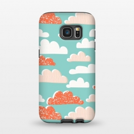 Galaxy S7  Clouds by Sarah Price Designs