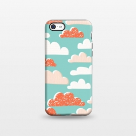 iPhone 5C  Clouds by Sarah Price Designs
