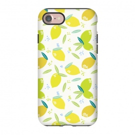 iPhone 8/7  lemons by Sarah Price Designs (lemons,yellow,fruit,fresh)