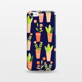 iPhone 5C  little garden by Sarah Price Designs