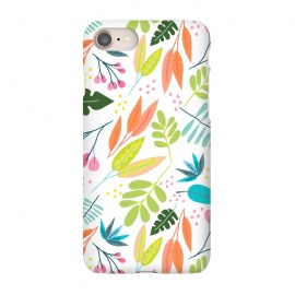 iPhone 7  Rainbow Jungle by Sarah Price Designs (Jungle,leaves)
