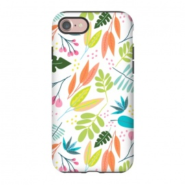 iPhone 8/7  Rainbow Jungle by Sarah Price Designs (Jungle,leaves)