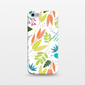 iPhone 5/5E/5s  Rainbow Jungle by Sarah Price Designs