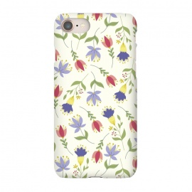 iPhone 7  Floral Toss by TracyLucy Designs (floral,pattern,spring,summer,nature)