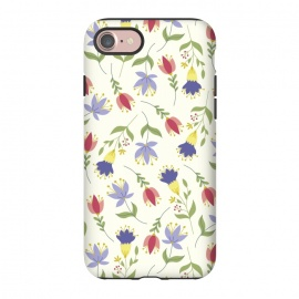 iPhone 8/7  Floral Toss by TracyLucy Designs (floral,pattern,spring,summer,nature)