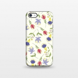 iPhone 5C  Floral Toss by TracyLucy Designs