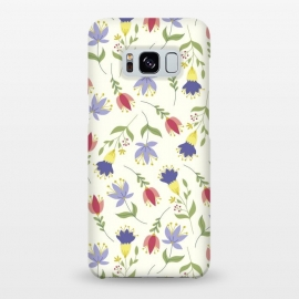 Galaxy S8+  Floral Toss by TracyLucy Designs (floral,pattern,spring,summer,nature)