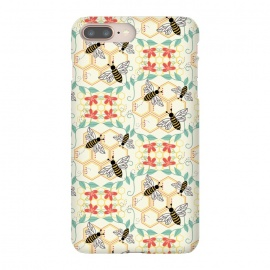 iPhone 8/7 plus  Honeybee by TracyLucy Designs (Honey,bees,instects,summer ,pattern)