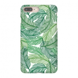 iPhone 8/7 plus  Palms by TracyLucy Designs (palms,summer,pattern,tropical,green)