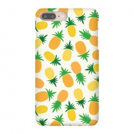 iPhone 8/7 plus  Pineapple Galore by TracyLucy Designs (pineapple,summer,pattern,fruit,tropical)