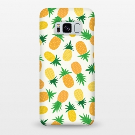 Galaxy S8+  Pineapple Galore by TracyLucy Designs (pineapple,summer,pattern,fruit,tropical)