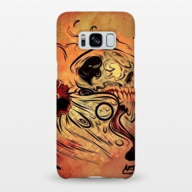 Galaxy S8+  Ghost flame skull by David dejaun johnson