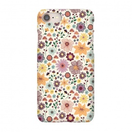 iPhone 7  Wild Bloom by TracyLucy Designs (floral,blooms,pattern,nature)