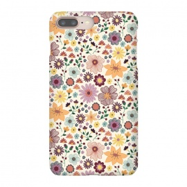 iPhone 8/7 plus  Wild Bloom by TracyLucy Designs (floral,blooms,pattern,nature)