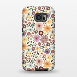 Galaxy S7 EDGE  Wild Bloom by TracyLucy Designs