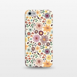 iPhone 5/5E/5s SlimFit Wild Bloom by TracyLucy Designs (floral,blooms,pattern,nature)