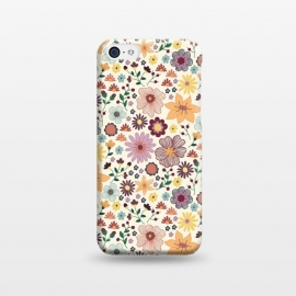 iPhone 5C  Wild Bloom by TracyLucy Designs (floral,blooms,pattern,nature)