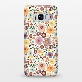 Galaxy S8+  Wild Bloom by TracyLucy Designs (floral,blooms,pattern,nature)