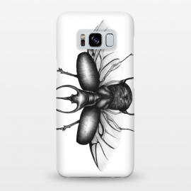 Galaxy S8+  Beetle Wings by Elizabeth Mazur
