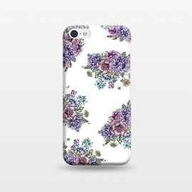 iPhone 5C  Vintage Florals by ECMazur
