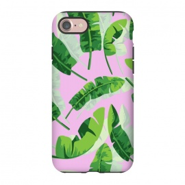 iPhone 7  Banana Leaf Pink by MUKTA LATA BARUA