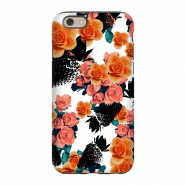 iPhone 6/6s  Strawberries + Flowers by Zala Farah
