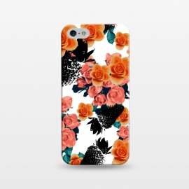 iPhone 5/5E/5s  Strawberries + Flowers by Zala Farah