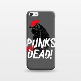 iPhone 5C  Punks not dead! by Mitxel Gonzalez (punk,rock,rooster,cock,funny,music,punkrocker,hilarious)
