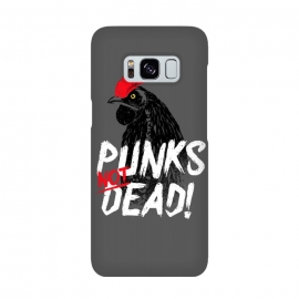 Punks not dead! by Mitxel Gonzalez (punk,rock,rooster,cock,funny,music,punkrocker,hilarious)