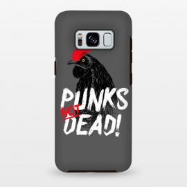 Galaxy S8+  Punks not dead! by Mitxel Gonzalez (punk,rock,rooster,cock,funny,music,punkrocker,hilarious)