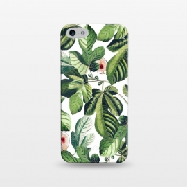 iPhone 5/5E/5s  Fig Garden by Uma Prabhakar Gokhale (graphic, acrylic, pattern, watercolor, tropical, fruit, fruits, figs, fruit pattern, botanical, nature)