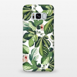 Galaxy S8+  Fig Garden by Uma Prabhakar Gokhale (graphic, acrylic, pattern, watercolor, tropical, fruit, fruits, figs, fruit pattern, botanical, nature)