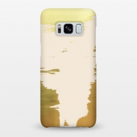 Galaxy S8+  Blush Gold by Uma Prabhakar Gokhale (acrylic, gold, blush, metallic, exotic, rose gold, random, abstract)