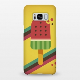 Galaxy S8+  Hot & Fresh Watermelon Ice Pop by Dellán (ice cream,retro,vintage,ice pop,watermelon,fruits,beach,summer,good vibes,fresh,hipster,trendy,food,gourmet,hot)